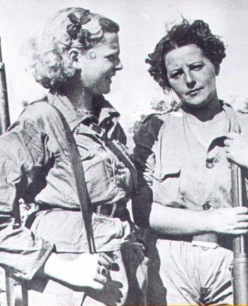 femmes durant la guerre civile espagnole